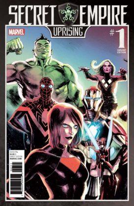 Secret Empire Uprising portada 2
