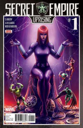 Secret Empire Uprising portada