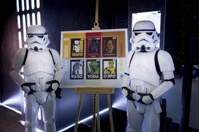 Star Wars sello conmemorativo de su 40 Aniversario 3
