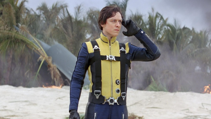 Still of james mcavoy in x men first class large picture