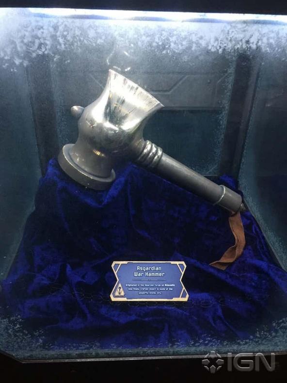 Stormbreaker - Beta Ray Bill - atracción Guardianes de la Galaxia Disneyland
