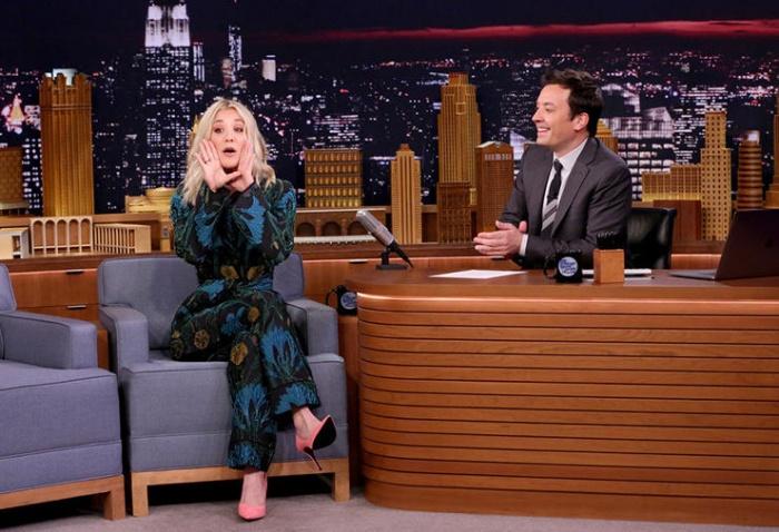 The Big Bang Theory Kaley Cuoco Jimmy Fallon Show