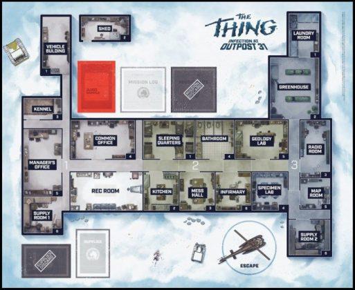 The Thing Juego de mesa 002