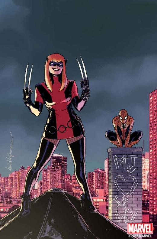 Wolverine MJ Variant