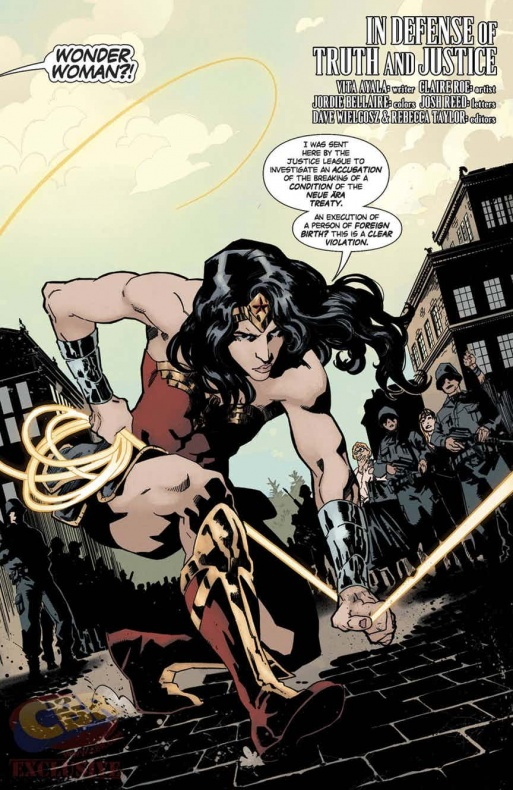 Wonder Woman Anual 4