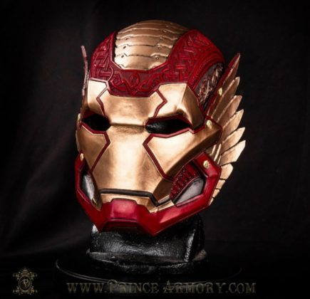 Iron Man armadura asgardiana Robert Downey Jr.