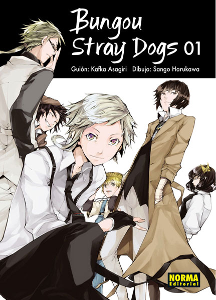 bungo stray dogs 01 portada