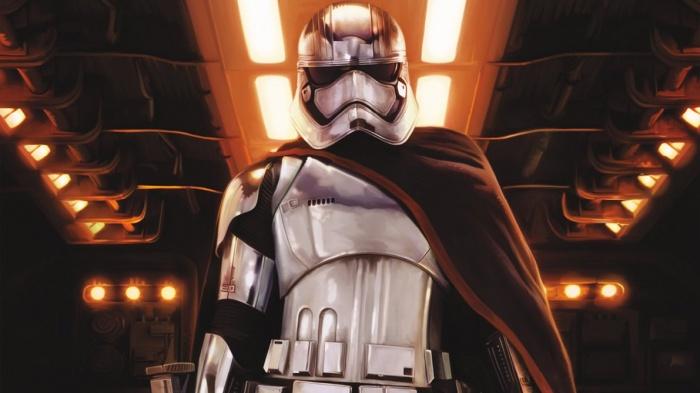'Star Wars': La Capitana Phasma podría parecer sin casco en el episodio VIII