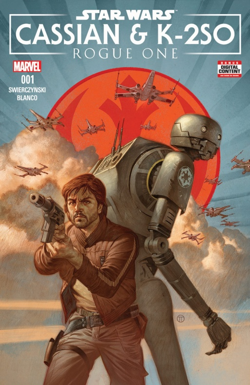 Star Wars Un nuevo cómic contará cómo se reunieron Cassian Andor y K-2SO
