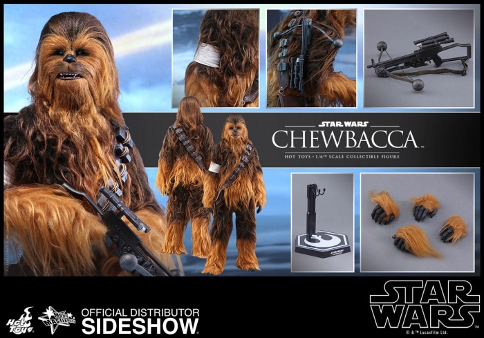 Hot Toys presenta una figura edición limitada de Chewbacca de 'El despertar de la Fuerza' 006