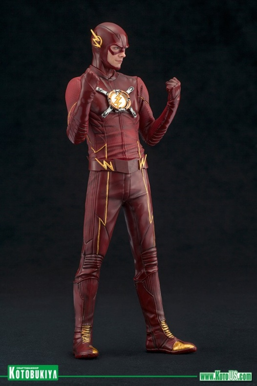 Nueva versión de la figura ARTFX+ de 'The Flash' de Kotobukiya 001