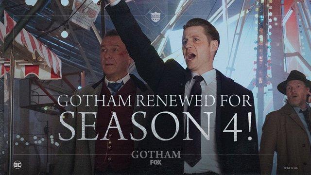 Confirmada la 4ª temporada de 'Gotham'