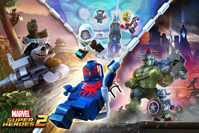 Primer tráiler y detalles de 'LEGO Marvel Super Heroes 2'