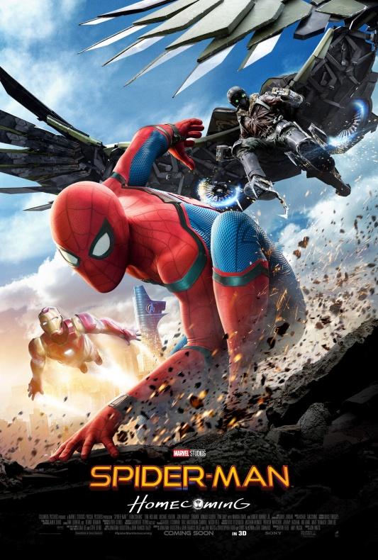 Pósters oficiales de 'Spiderman: Homecoming'