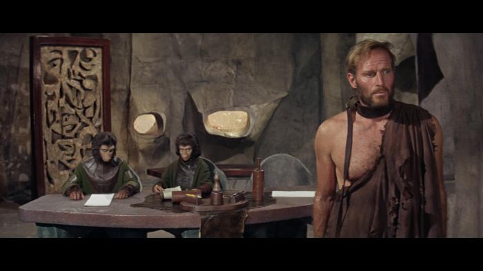 El planeta de los simios 1968 Charlton Heston