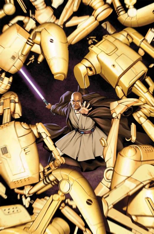 Mace Windu tendrá colección propia de cómics