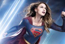 Supergirl promociona la película de 'Wonder Woman'