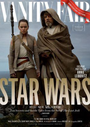 Desveladas las portadas de Vanity Fair sobre 'Star Wars: Los últimos Jedi' 001