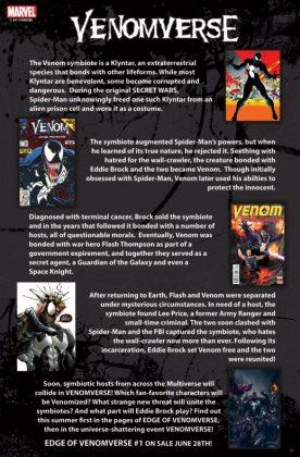 Primer vistazo a 'Venomverse', el evento del verano de Marvel Comics