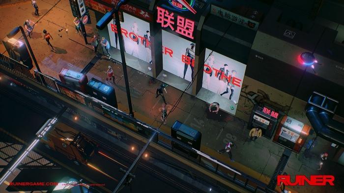'Ruiner' es un juego de Devolver Digital lleno de acción y ubicado en el futuro 005