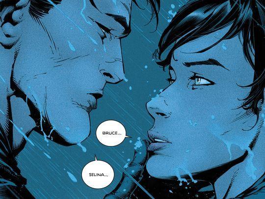 Batman propone matrimonio a Catwoman