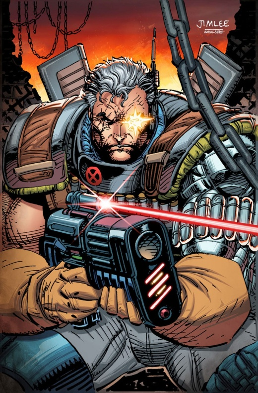 Cable 3 X Men Trading Card Variant