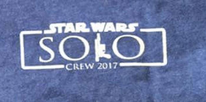 Se publican fotografías de las camisetas del spin-off de Han Solo 003
