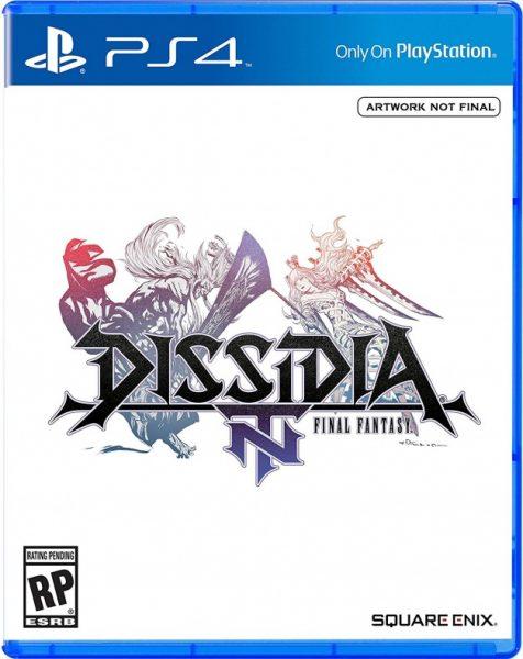 Dissidia Final Fantasy NT portada