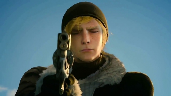 Final Fantasy XV Prompto