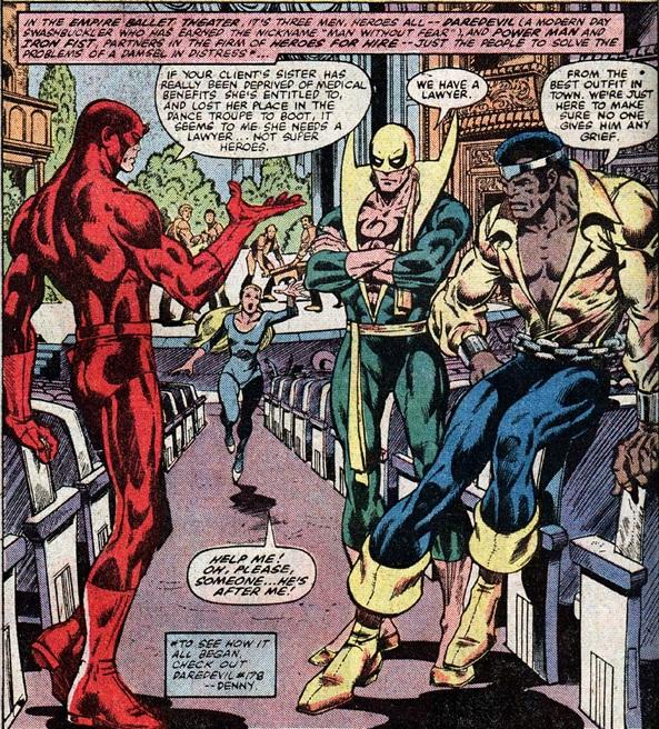 Héroes de Alquiler Daredevil