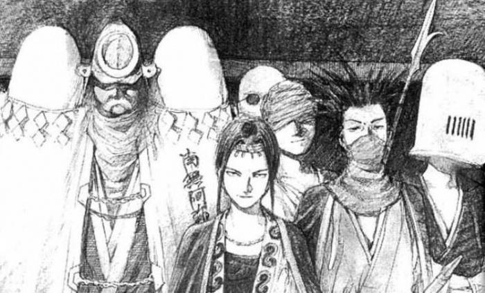 La espada del inmortal manga