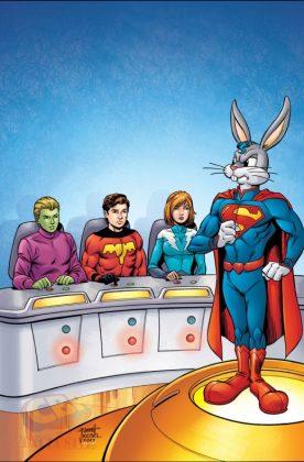 Legion de superhéroes y Bugs