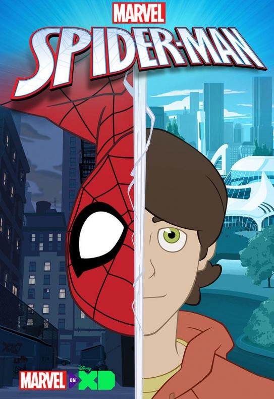 Primer teaser tráiler de la serie animada 'Marvel's Spider-Man'