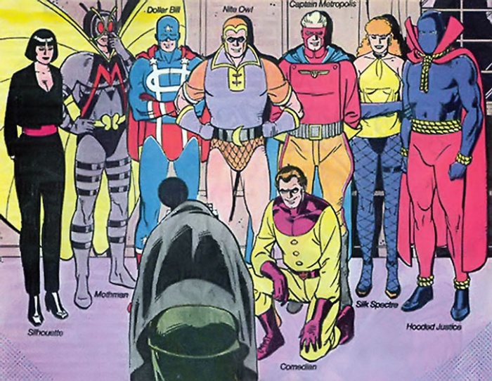 Minutemen-Watchmen-foto de grupo