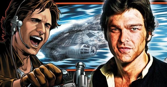 Se publican fotografías de las camisetas del spin-off de Han Solo 001