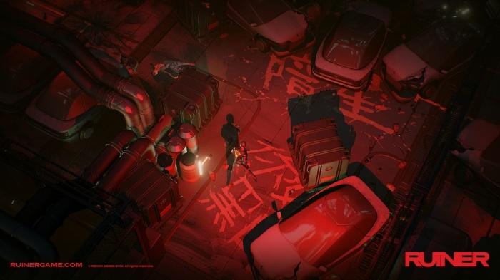 'Ruiner' es un juego de Devolver Digital lleno de acción y ubicado en el futuro 003
