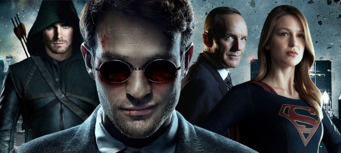 Series The CW Marvel Netflix - SDCC 17