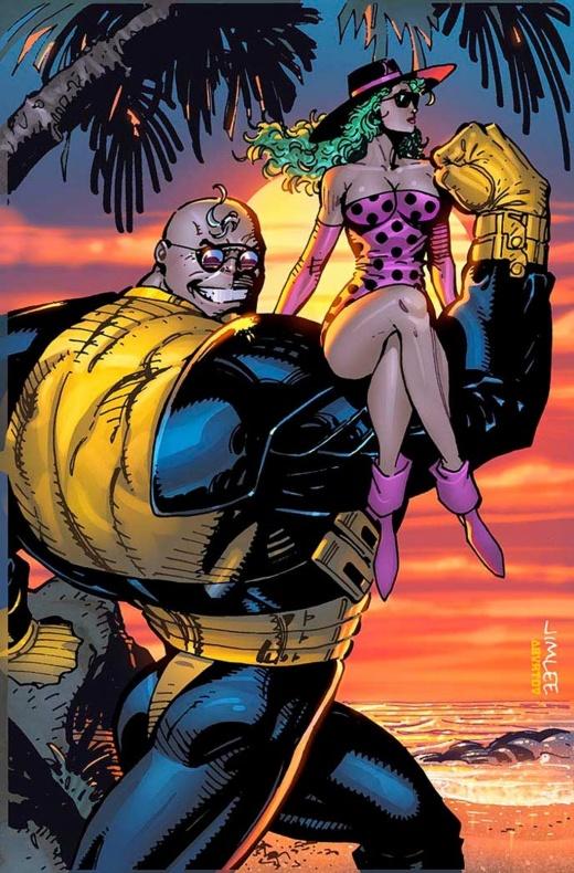 Thanos 9 X Men Trading Card Variant