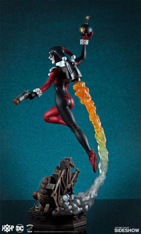 Tweeterhead presenta una nueva figura de Harley Quinn 001
