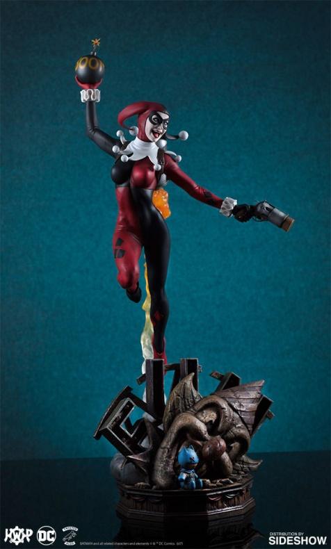 Tweeterhead presenta una nueva figura de Harley Quinn 006