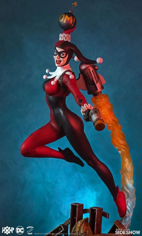 Tweeterhead presenta una nueva figura de Harley Quinn 008