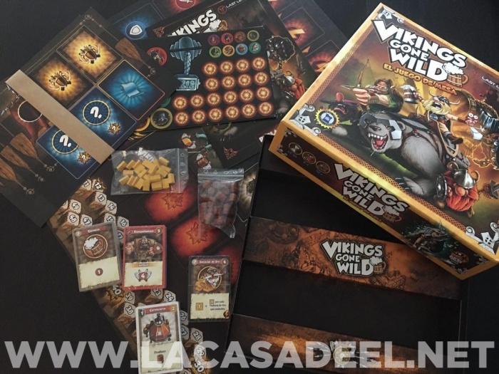Analisis Del Juego De Mesa Vikings Gone Wild