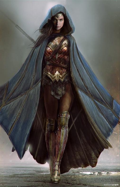 Wonder Woman Concept Arts