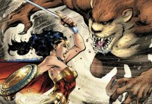Wonder Woman vs Diablo de Tasmania