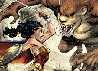 Wonder Woman vs Diablo de Tasmania
