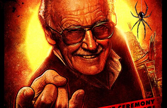 Stan Lee estampará sus huellas en cemento frente al teatro IMAX TCL Chino en Hollywood 001