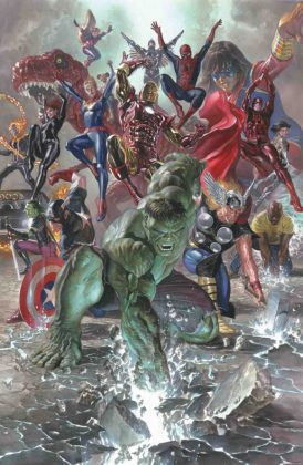 alex ross marvel legacy 1