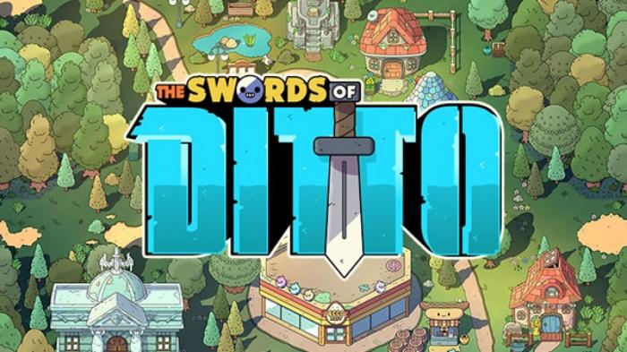 Otro de los videojuegos de Devolver Digital es ''The Swords of Ditto'