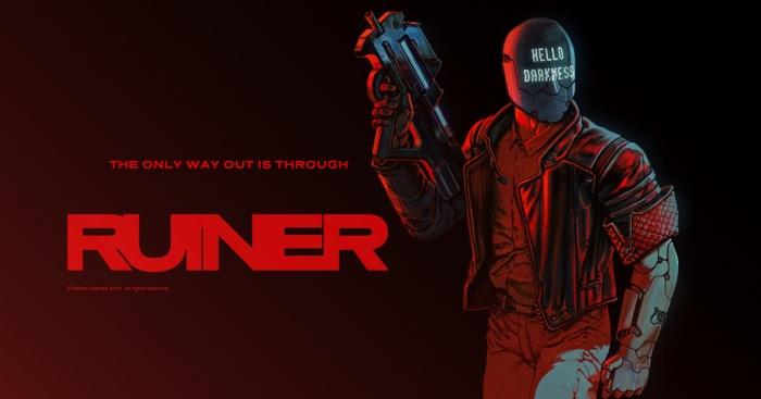'Ruiner' es un juego de Devolver Digital lleno de acción y ubicado en el futuro