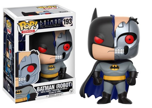 Nuevos Funko Pop! de la línea Batman: The Animated Series Pop! 007